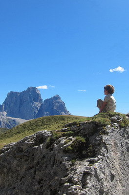 trekking in cortina
