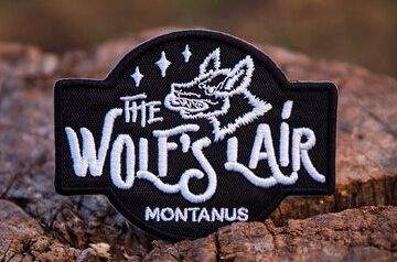 The logo of The Wolf's Lair