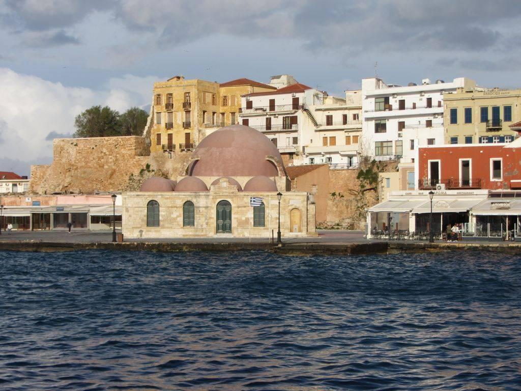La Canea - porto veneziano e moschea ottomana